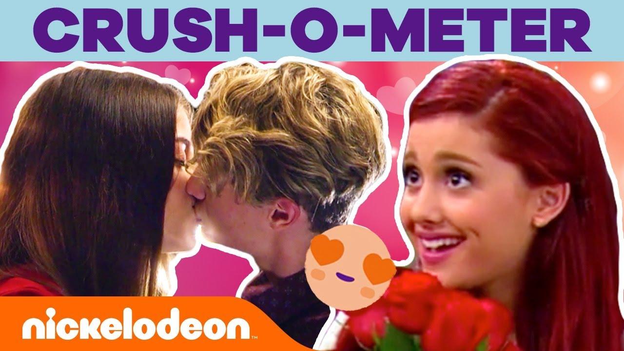 Valentine's Day Crush-o-Meter 😍 Romantic Moments | Nick