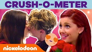 Valentine's Day Crush-o-Meter 😍 Romantic Moments | Nick