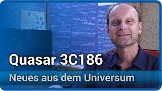 Quasar 3C186 • Neues aus dem Universum | Josef M. Gaßner