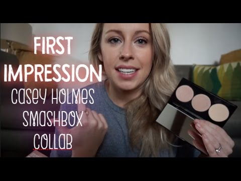 FIRST IMPRESSION: Casey Holmes Smashbox Collab - Pearl Palette thumbnail