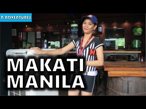 Makati Manila: Food, Filipinas & SAF, Philippines S3, Travel Vlog #127