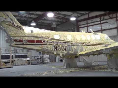 Aircraft stripper paint
