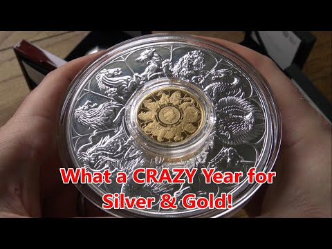 2021 has been a Crazy Year for Gold & Silver - Is there More Craziness Yet to Come?