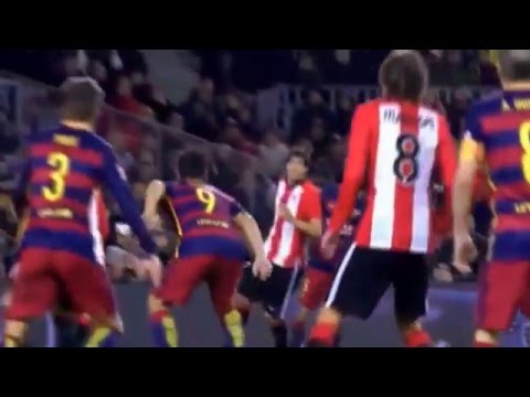 Барселона 6-0 Атлетик - Обзор матча 17.01.2016 - Чемпионат Испании