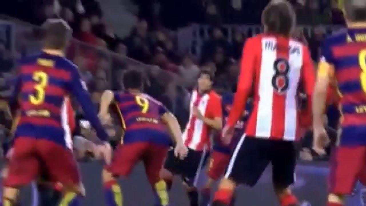 Барселона атлетик бильбао 6 0 видео голов