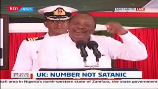President Uhuru rubbishes '666' rumours concerning Huduma Namba