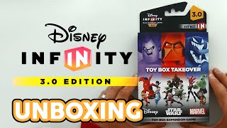 Disney Infinity 3.0 Toy Box Takeover Expansion Unboxing