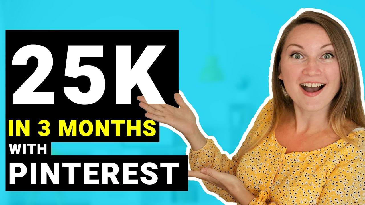 Pinterest for Bloggers: Get Traffic to your Website FAST! 25k mo sessions in a few months!