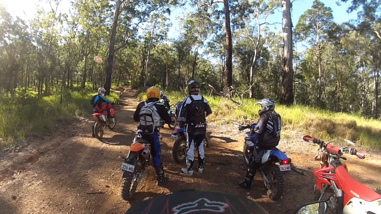 Gatton Forestry ride GOPRO - YouTube