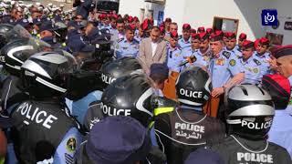الحمود يكرم طاقم دورية السير التي تم الاعتداء عليها - (4-8-2018)