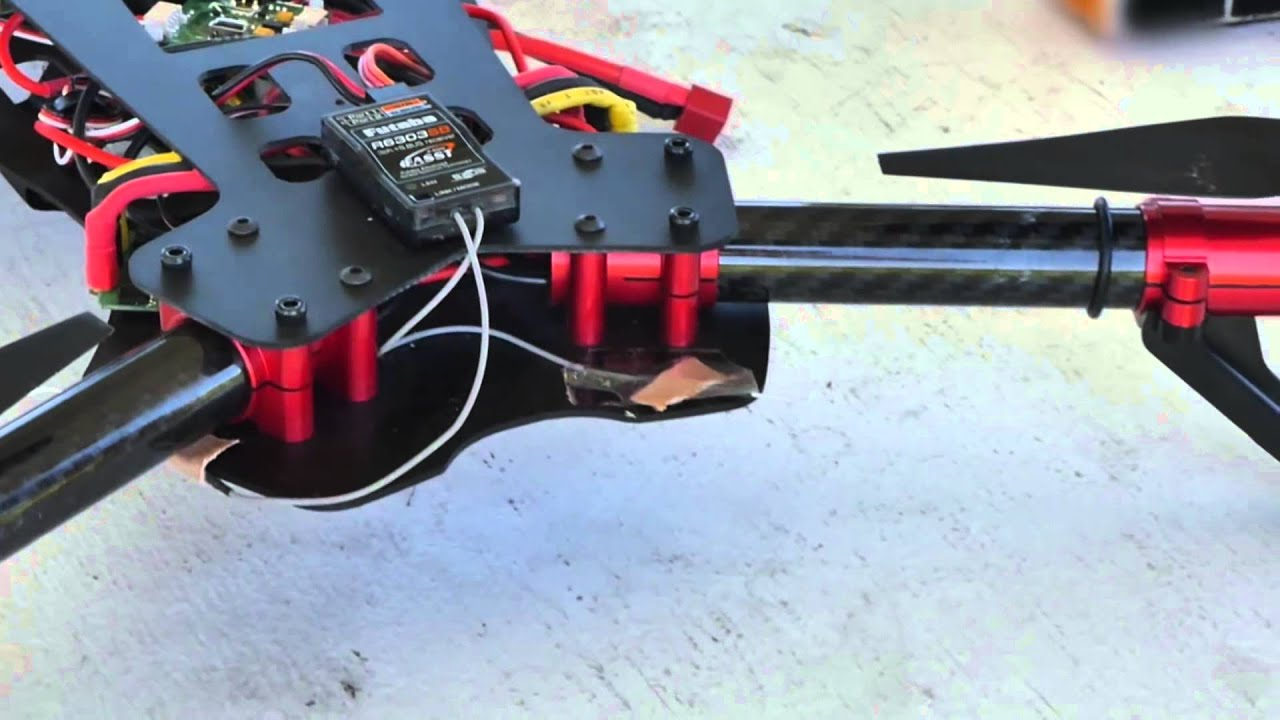 Voltage 500 3D Rx-R by Heli-Max - YouTube