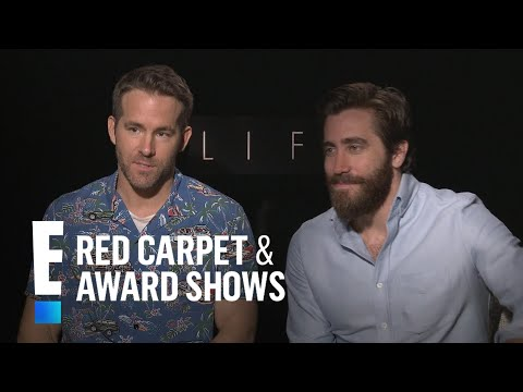 "Jake Gyllenhaal & Ryan Reynolds Spill Deets on ""Life"" 