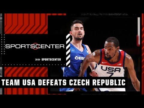 Download Team USA defeats Czech Republic and advances to the quarterfinals   SportsCenter