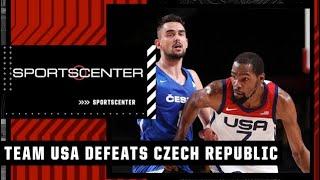 Team USA defeats Czech Republic and advances to the quarterfinals