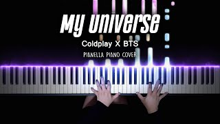 Coldplay X BTS - My Universe | Piano Cover by Pianella Piano