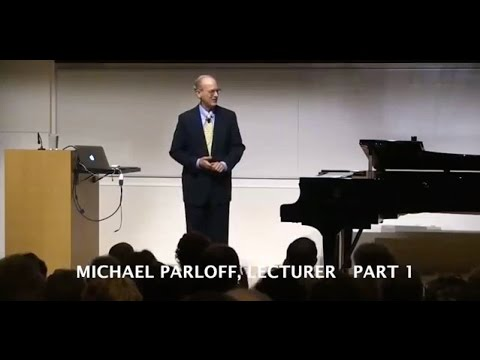 Michael Parloff: Lecture on Russian Musical History, Part 1;