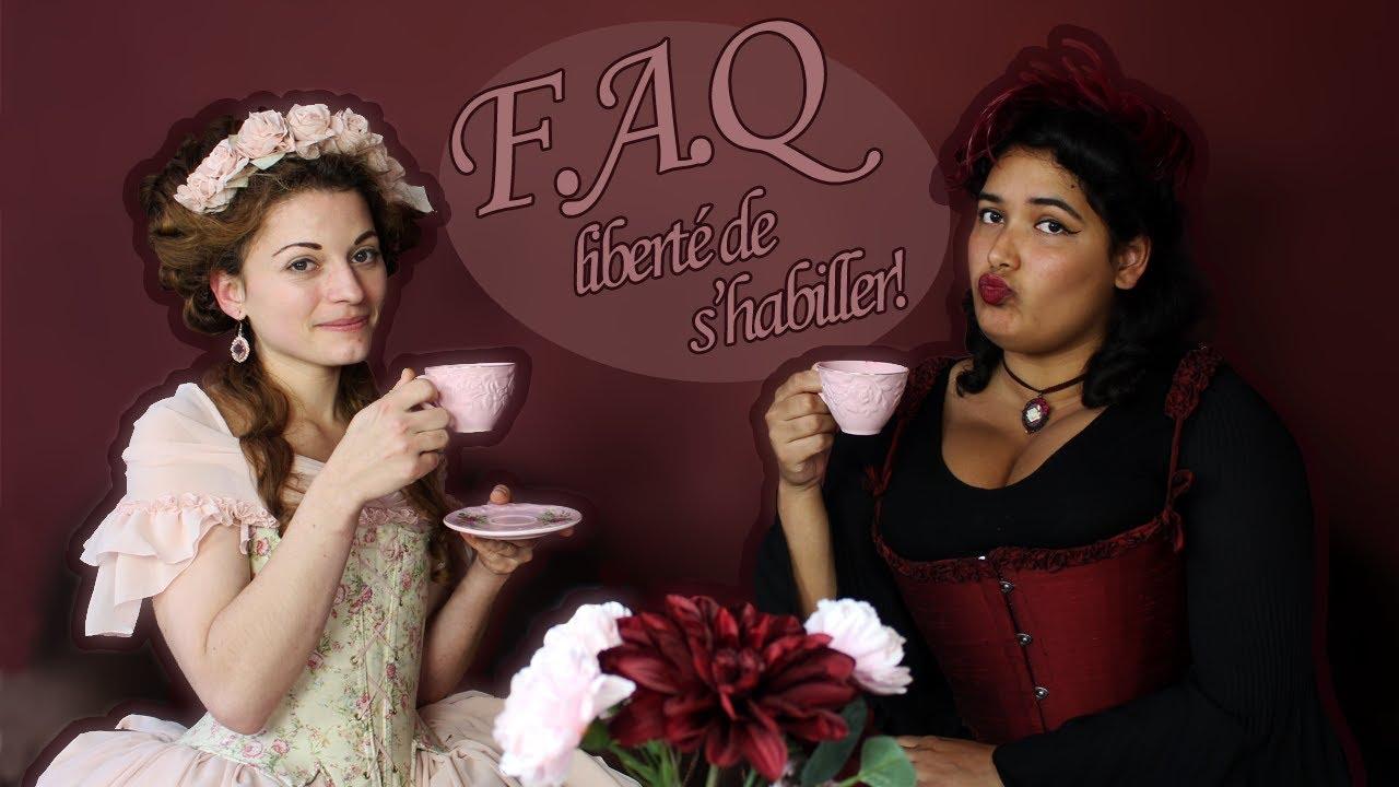 """F.A.Q """"la liberté de s'habiller"""" !"""