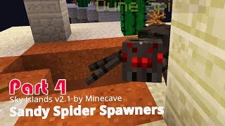 Minecraft Adventure Map - Sky Islands v2.1 - Sandy Spider Spawners {4}