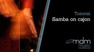 Samba on cajon lesson