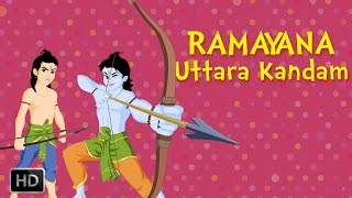 Ramayana:The Epic (Full Movie) - Uttara Kandam - Birth Of Lav Kush - Animated Stories For Kids