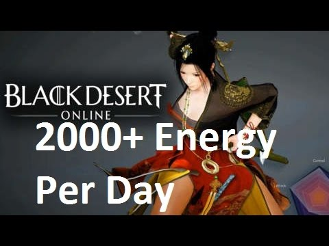 2000+ Energy Per Day Guide - Black Desert Online