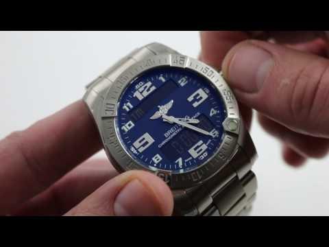 Breitling Aerospace Evo Superquartz GMT Chronograph Ref. E7936310/C869 Watch Review