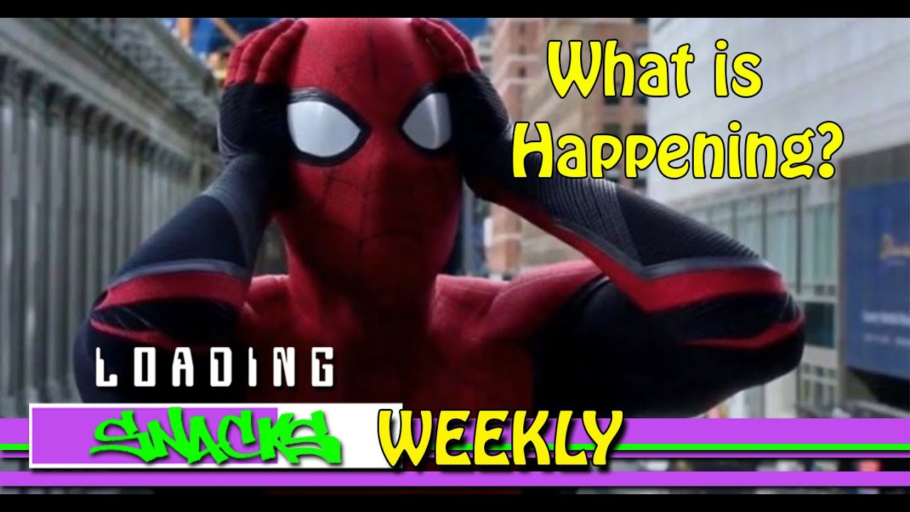 Loading Snacks Weekly | Spider-Man Film Rights & Gamescom 2019