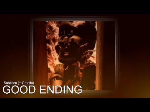 FNAF 6: GOOD ENDING | Subtitles (+ Credits)
