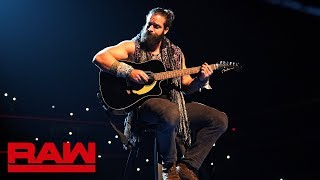 Elias serenades San Diego about Bobby Lashley and Lio Rush: Raw, Dec. 10, 2018
