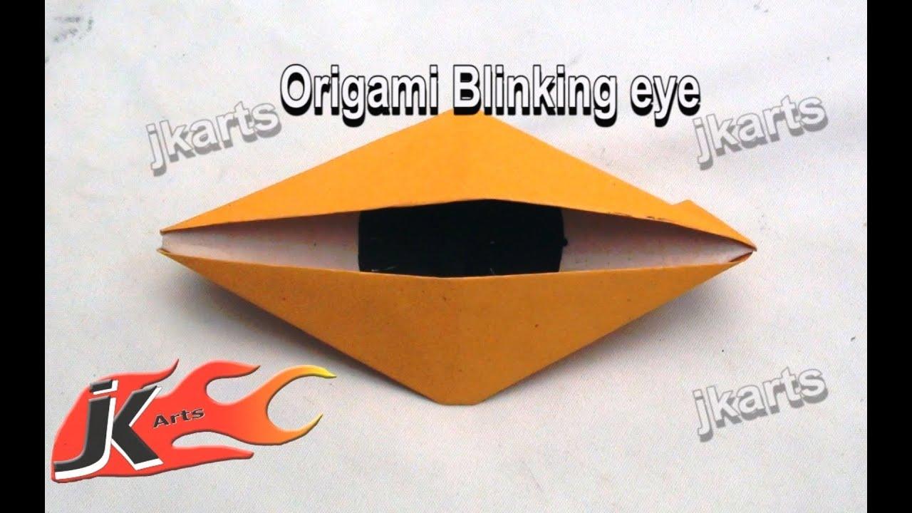 Diy how to make blinking eye origami jk arts 087 youtube diy how to make blinking eye origami jk arts 087 jeuxipadfo Choice Image