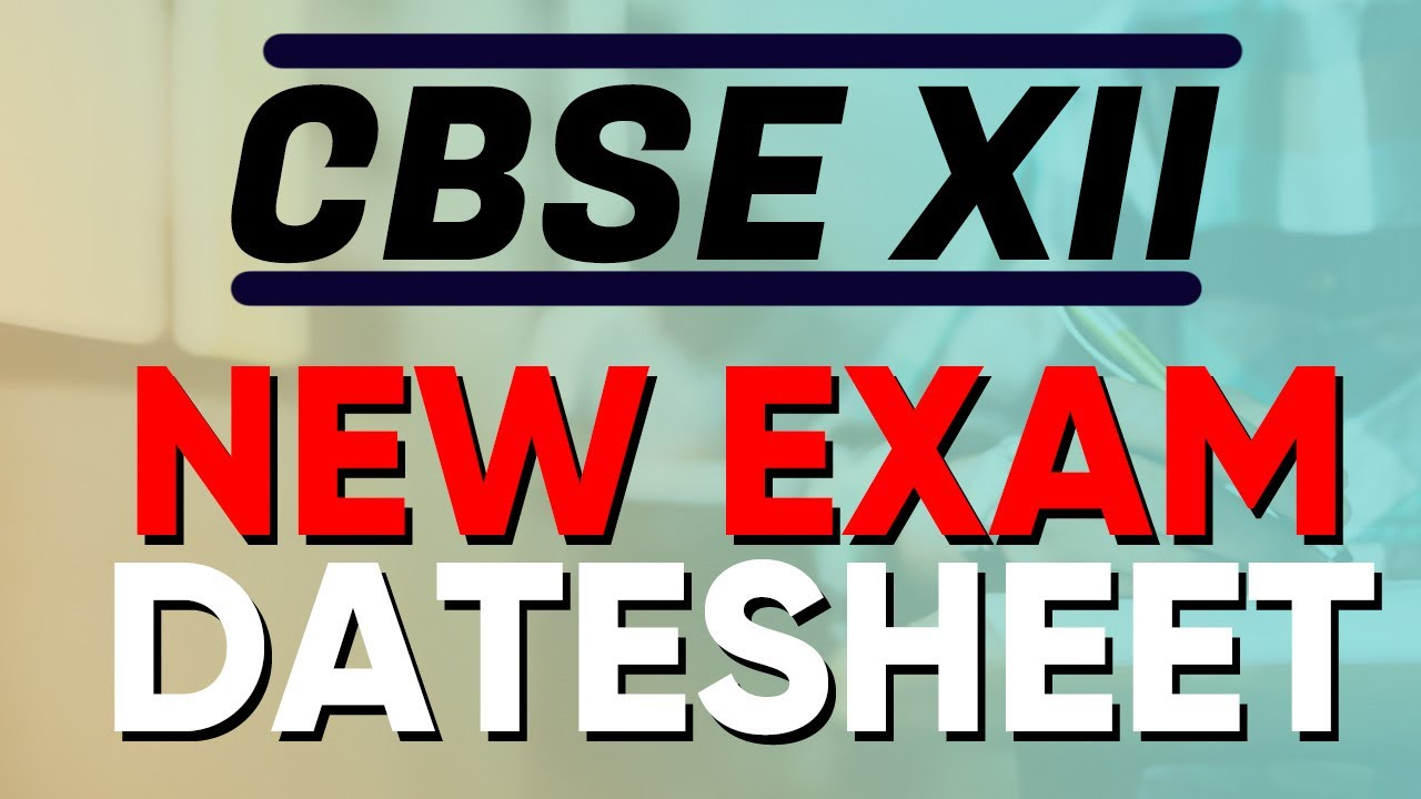 CBSE Latest News | 10th and 12th New datesheet | 75 % Marks Criteria and All -#CBSE