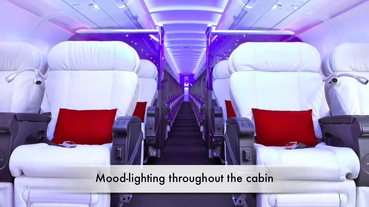 All About Virgin America A Breath Of Fresh Airline Youtube