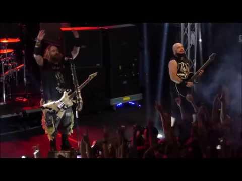 Max & Igor Cavalera (Sepultura).  Return to Roots. Madrid, 7 Nov. 2016 .Sala BUT