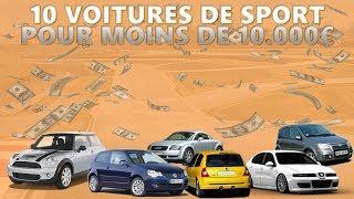 DES VOITURES DE SPORT POUR MOINS DE 10 000€ !