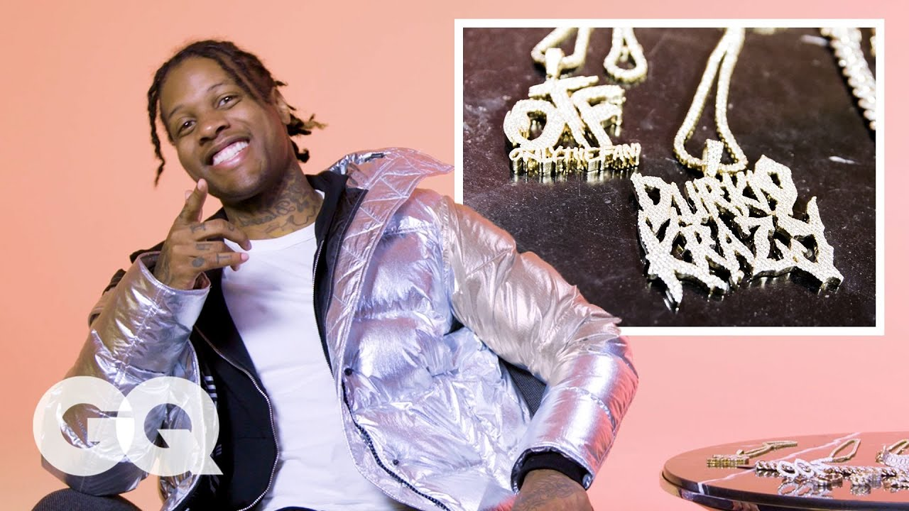 Lil Durk Shows Off His Insane Jewelry Collection
