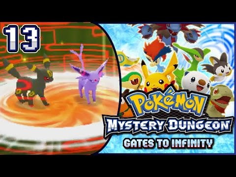 Pokémon Mystery Dungeon - Gates to Infinity Part 13 | DRAGS IN THE CRAGS