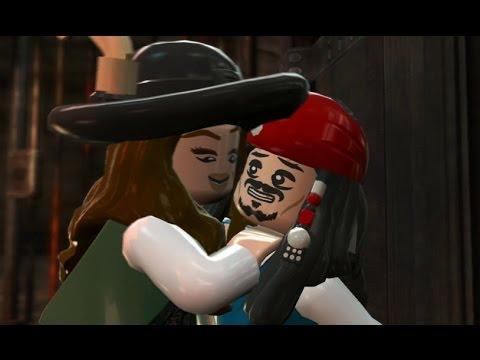 LEGO Pirates of the Caribbean Walkthrough Part 18 - White Cap Bay (On Stranger Tides)