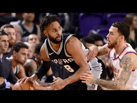 Patty Mills explodes for 20 points in win vs Suns | 9 Dec 2017