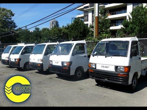 Five Daihatsu Hijet And Subaru Sambar Trucks for sale in Vancouver, BC, Canada