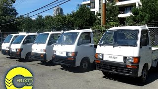 Five Daihatsu Hijet And Subaru Sambar Trucks for sale in Vancouver, BC, Canada