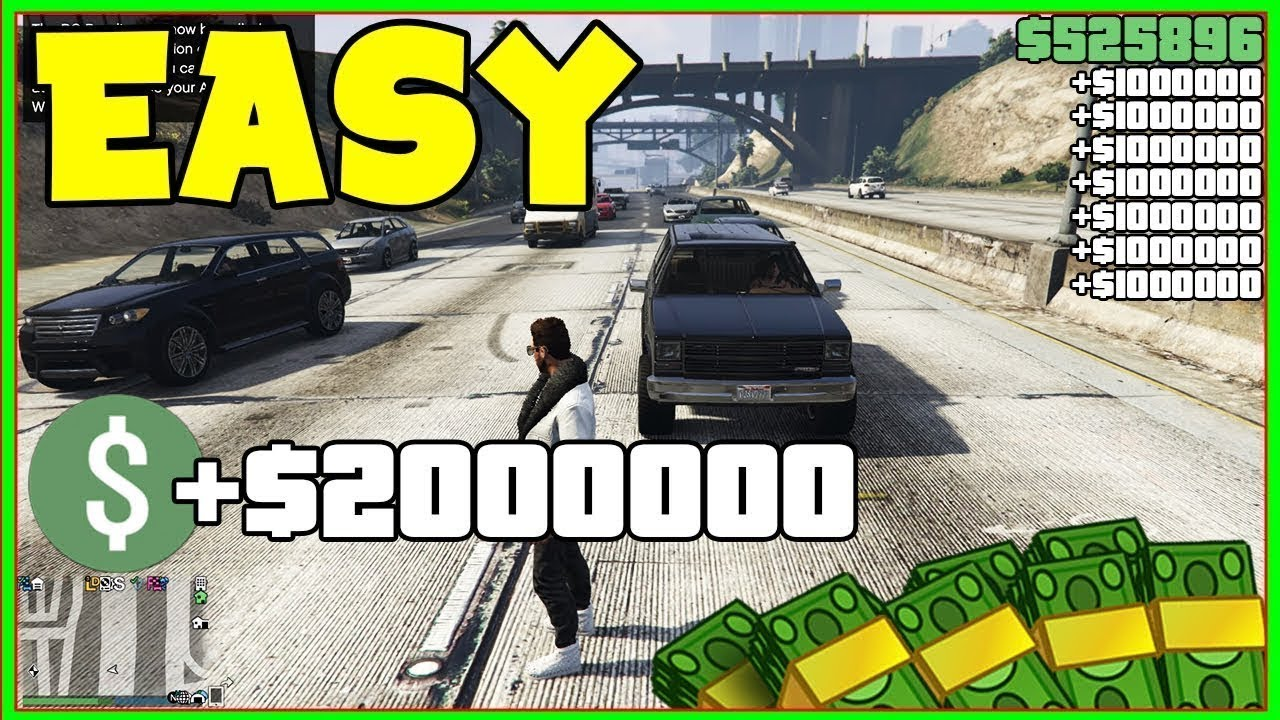 *SIMPLE* GTA 5 MONEY GLITCH TO DO FAST!! (Unlimited Money) *Ps4/Xbox/PC* EASIEST FAST!
