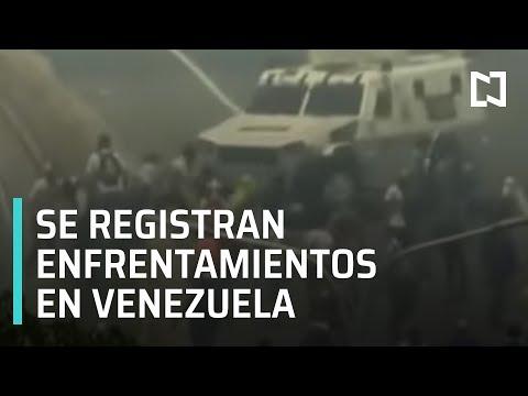 Información de última hora: Se registran enfrentamientos en Venezuela