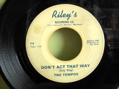 THE TEMPOS - DON'T ACT THAT WAY