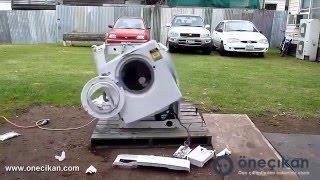 Horon tepen çamaşır makinesi