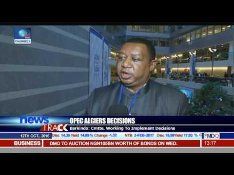OPEC Algiers Decisions: Barkindo Hopeful Nigeria Will Ramp Up Output