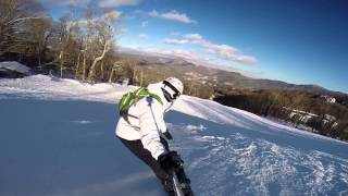 Sugar Mountain Snowboarding - Tom Terrific To Upper Flying Mile