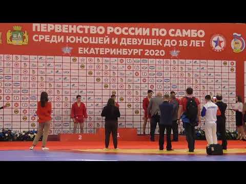 Первенство России по самбо 24 янв 2020г. Финал (Ковер №2)
