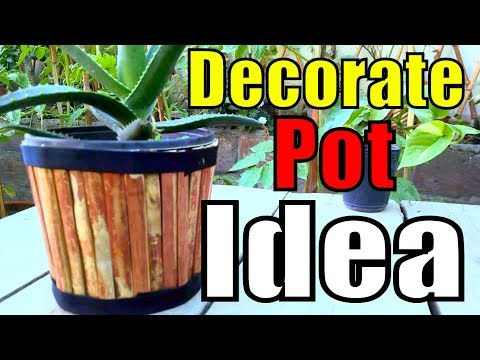 680 how to decorate pot with bamboo sticks pot for How to decorate bamboo sticks