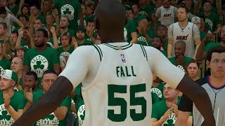 NBA 2K19 Tacko Fall My Career Ep. 8 - INSANE Playoff Debut