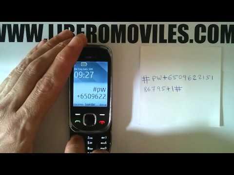 Instrucciones para liberar por imei Nokia 7230